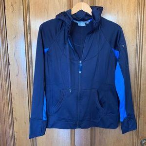 Athleta Strength Cozy Hoodie Jacket, Macaw Blue